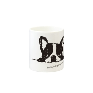 French Bulldog01 UP Mugs