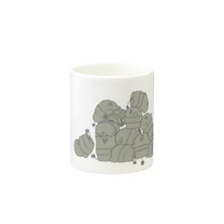 イッパイサボテン マグカップ Mugs
