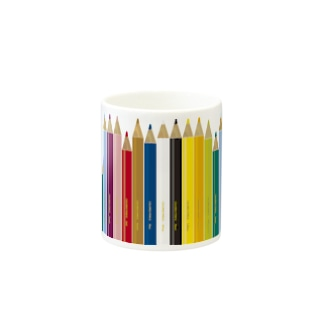 gorozomachine_storeの色鉛筆 Mugの取っ手の反対面