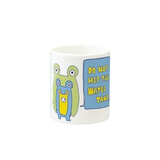 すいそうをたたかないでください。 Mugs