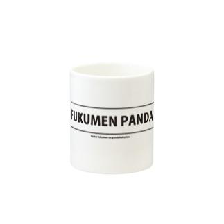 覆面パンダのロゴマグカップ Mugs