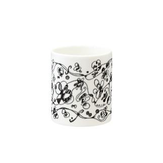 Flower Garden / フラワーガーデン Mugs