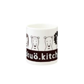 4頭のクマさん Mugs
