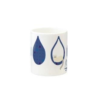 Tear Drop[Blue-Ragdoll] Mugs