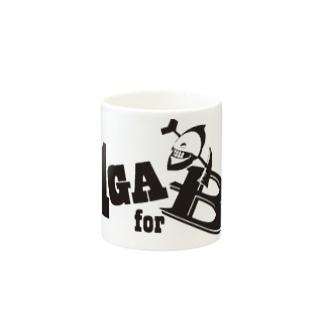 1GAforBロゴ Mugs