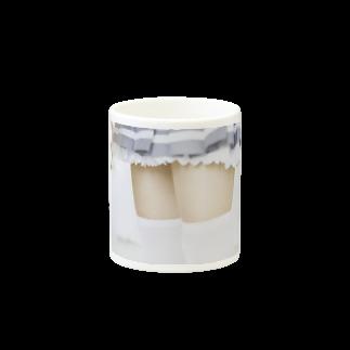 saki屋の◯絶対領域◯ Mugsの取っ手の反対面