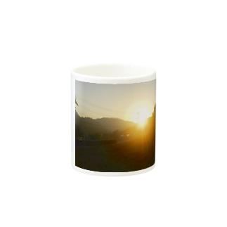 朝焼けA Mugs