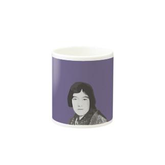 文豪・与謝野晶子ちゃん Mugs