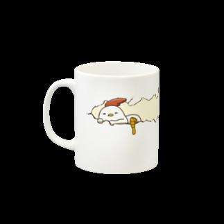 Nobe_tto Worksの【飛ば鳥】エッグマグカップ マグカップ