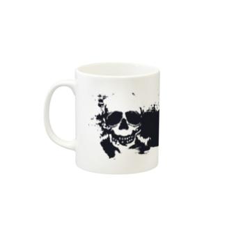 Funny skull マグカップ