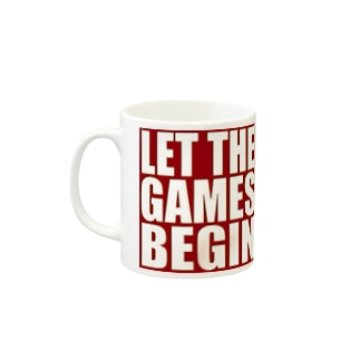 Let the games begin. Mugs