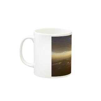 毎朝ご来光 Mugs