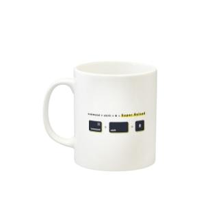 Shortcut key mug - Super Reload Mugs