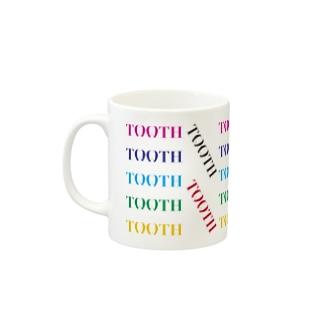 Tooth logoカラフル マグカップ