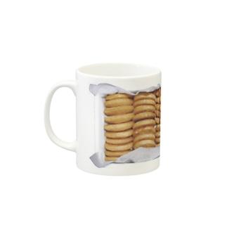 cookie box Mugs