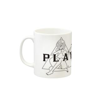 PLAY GIRL(期間限定販売)白ボディ推奨 Mugs