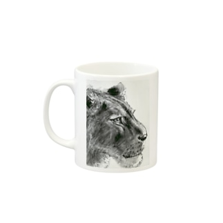 ライオン Mugs