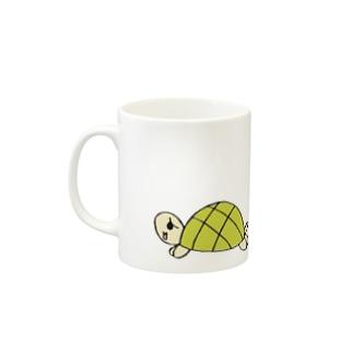 gentle turtle Mugs