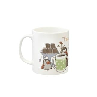 ティータイム 焼きペン Mugs