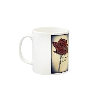 Rose-a/left Mugs