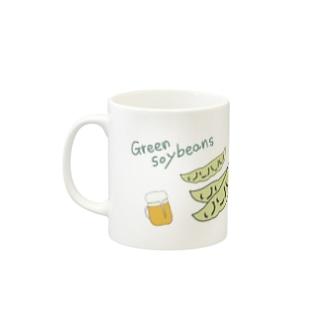 Green soybeans-枝豆- Mugs
