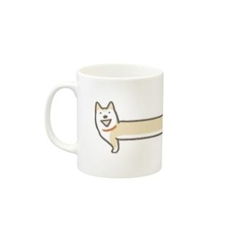 ◆のびわんこ Mugs