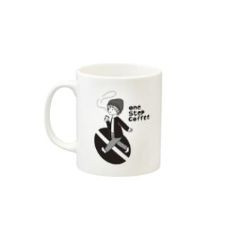 one step coffee マグ Mugs