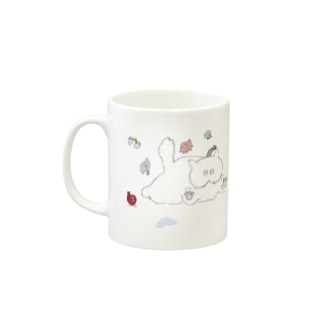 SUPER BIG BIG NYANKO Mugs