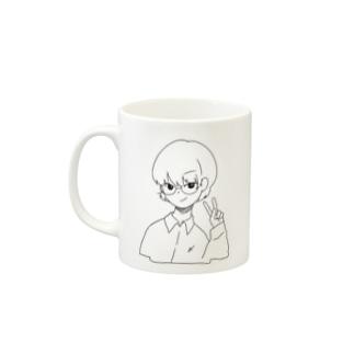 〆芥川C Mugs