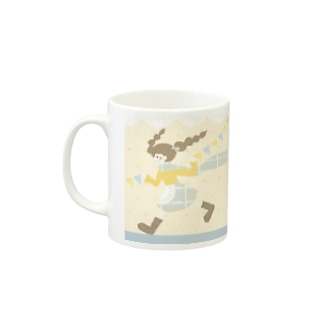 ema-emama『flag-girl』 Mugs