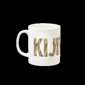 SHOP W SUZURI店のKIJITORA マグカップ Mugs