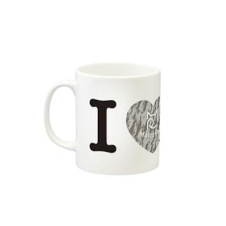 I ♥ Saba Tora マグカップ Mugs