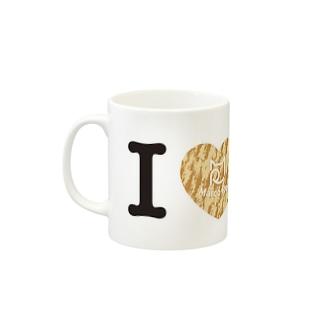 I ♥ Cha Tora マグカップ マグカップ