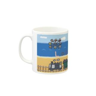 きかんしゃのたび Mugs
