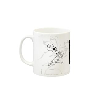 音獣戯画 Mugs