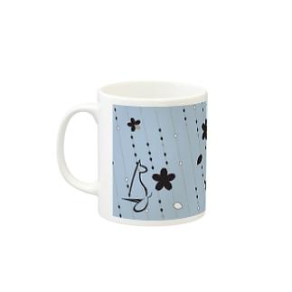 Sakura[LightBlue] Mugs