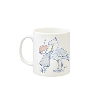 かっこいい鳥 Mugs