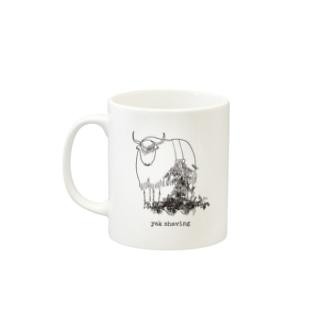 yak shaving Mugs