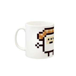 PixelArt スシスッキー サーモン Mugs