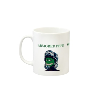ARMORED PEPE Mugs
