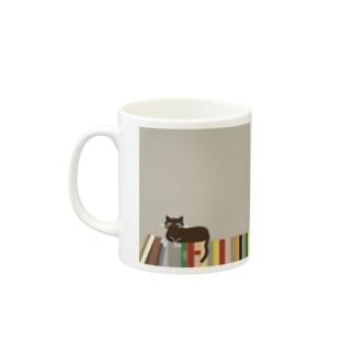 「本2」マグカップ Mugs