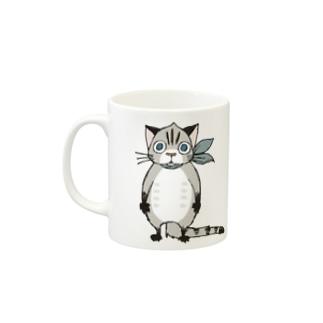 「栗ネコ」 Mugs