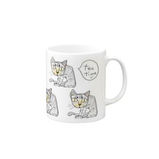「tea timeゾ」 Mugs