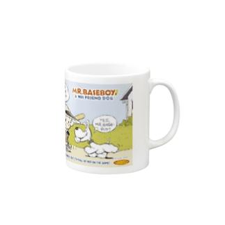 MR. BASEBOY! Mugs