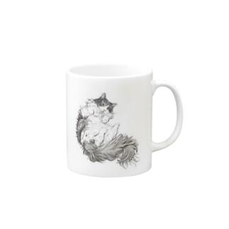フクちゃん2ポーズ Mugs