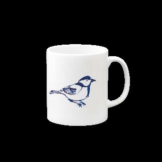 TORISUKIの身近な野鳥「シジュウカラ」 Mugs