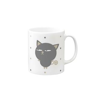 ZooBee-nuco仲良し水玉 Mugs