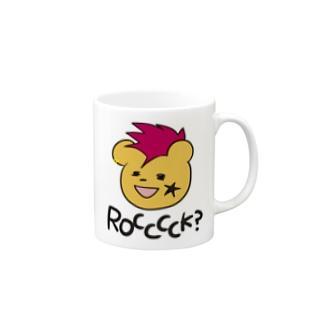 パンクロッくま Mugs