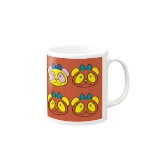 やんべぇパンダ大連発 Mugs