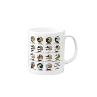 日本のチドリ Mugs